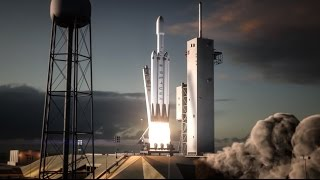 Repeat youtube video Falcon Heavy  | Flight Animation