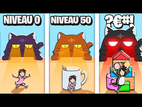 J'AI TROUVÉ LES MEILLEURES CACHETTES POSSIBLES !! (Hide and Seek: Cat Escape!)