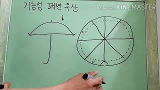 기능성 패션 우산 (아이디어)