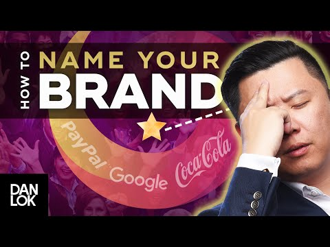 How To Come Up With A GREAT Brand Name (NOT What You Think)