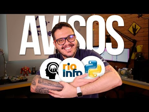 Avisos IMPORTANTES: Pesquisa + Rio Info + Python