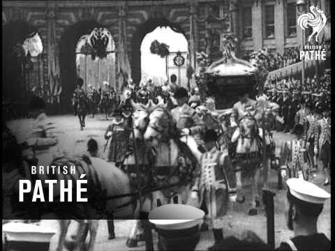 Coronation Of George VI And Queen Elizabeth  Reels 1 & 2 (1937)