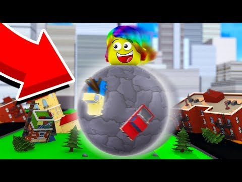 DESTROYING A CITY WORTH $650 QUADRILLION (Roblox Boulder Simulator)