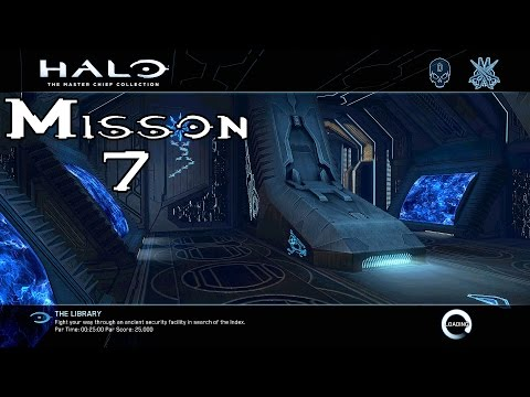 Halo Ce Anniversary - The Library - Mission 7 (1080p60fps) Xbox One MCC
