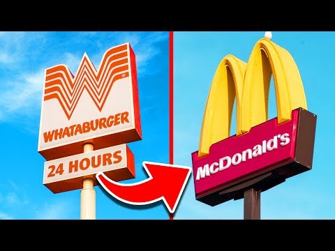 Top 20 Fast Food Chains That DOMINATE America
