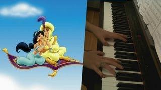 A Whole New World (Ce Rêve Bleu) - Aladdin - Piano