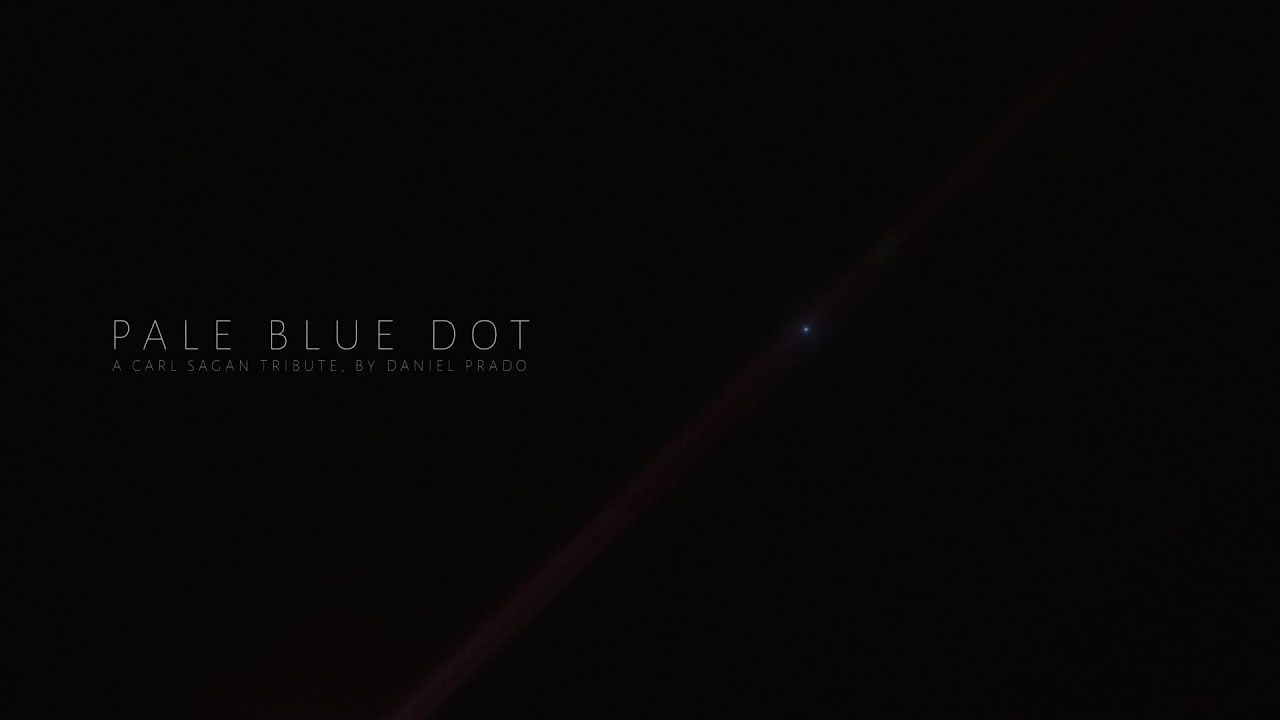 Pale Blue Dot - A Carl Sagan Tribute by Daniel Prado