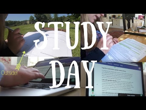 Study With Me || Friday / Saturday (Outside)