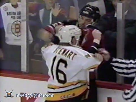 Bill Guerin vs Cam Stewart May 5, 1994