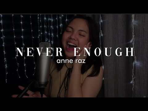 Never Enough - Loren Allred (cover)