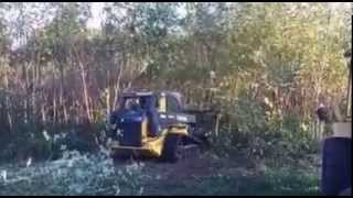 John Deere 333E Track Loader Mulching Head