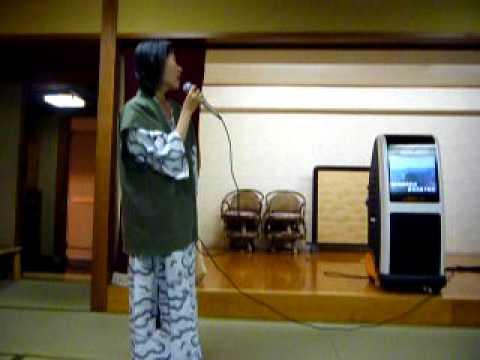 Karaoke after hot spring& dinner @ Atami, Japan
