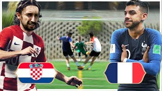 FINAL CROACIA VS FRANCIA | WORLD CUP Challenge DjMaRiiO vs Toniemcee