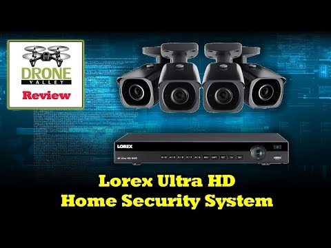 4K Lorex Home Security System - Review and Setup