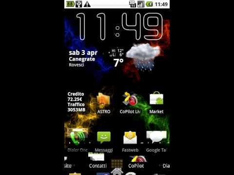Video Capture ROM Custom Nexus One Modaco R13 no Sense by batista70phone