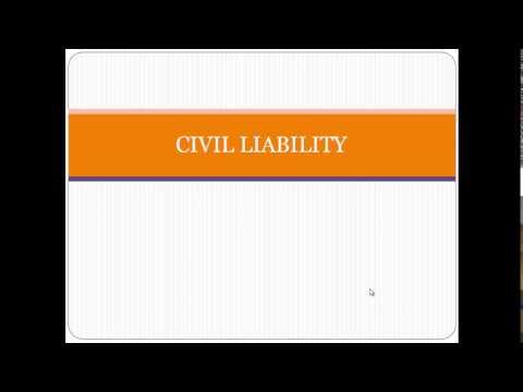 EDUC 5623 Civil Liability