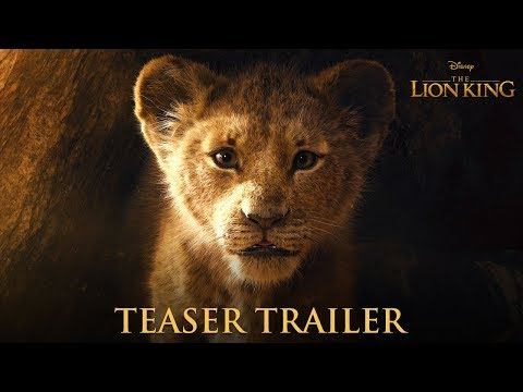 Ashley G - WATCH: The Lion King Teaser Trailer