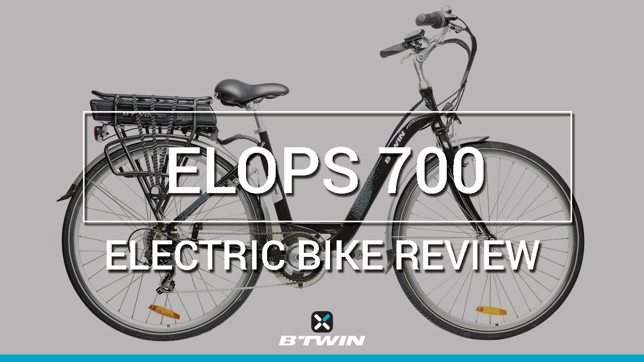 v lo lectrique elops 700 b 39 twin electric bike elops 700 b 39 twin youtube. Black Bedroom Furniture Sets. Home Design Ideas