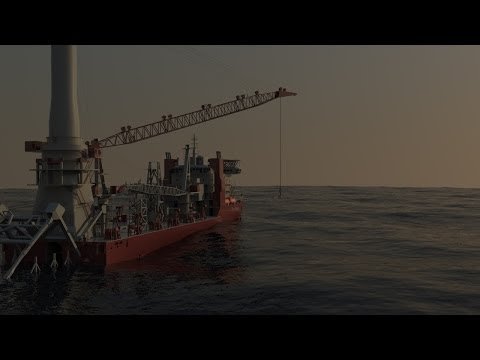Animation of First Subsea's Pipeline Recovery Tool (PRT).