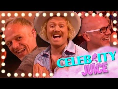 Holly Willoughby Shaves Off A Mans Hair...For A Point | Celebrity Juice | Series 10