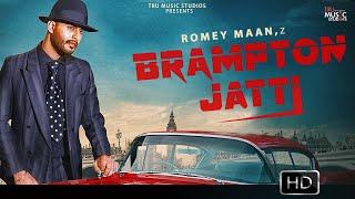 Brampton Jatti Romey Maan Free MP3 Song Download 320 Kbps