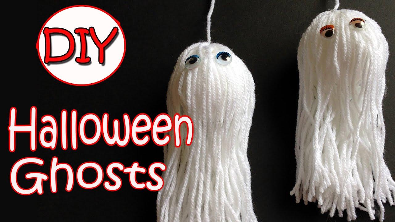 Very easy halloween decorations ghosts ana diy for Halloween decorations crafts to make