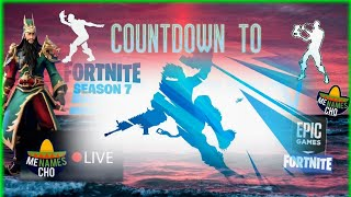 🛩MenamesCho's LIVE - SEASON 7 - COUNTDOWN 1ST GAMES PLANE 🛩 🎅 FORTNITE BATTLE ROYALE - 06 12 2018