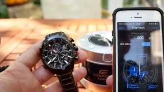 Casio Edifice EQB-500DC Smartwatch Review [4K]