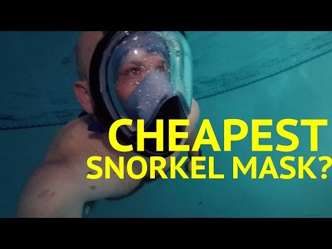 Curved Snorkel Mask CHEAPEST PRICE ... (watch To The End)