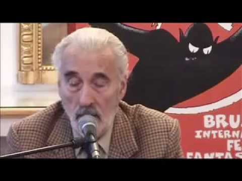 Christopher Lee on Founder and Father of Pakistan ( Quaid-e-Azam )
