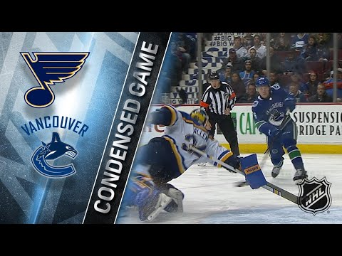 12/23/17 Condensed Game: Blues @ Canucks
