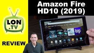 New 2019 Amazon Fire HD 10 Tablet Review - A nice improvement over the original