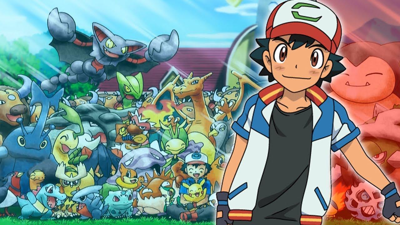 timeless design 50f2d bffad TUTTI i Pokémon di Ash Ketchum!