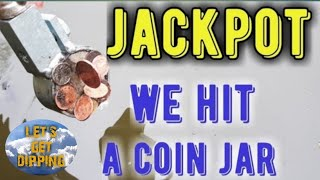 (( WE HIT A MONEY JAR )) MAGNET FISHING,, 200kg MAGNET FULL OF MONEY  PLUS LOT'S MORE FINDS ,,