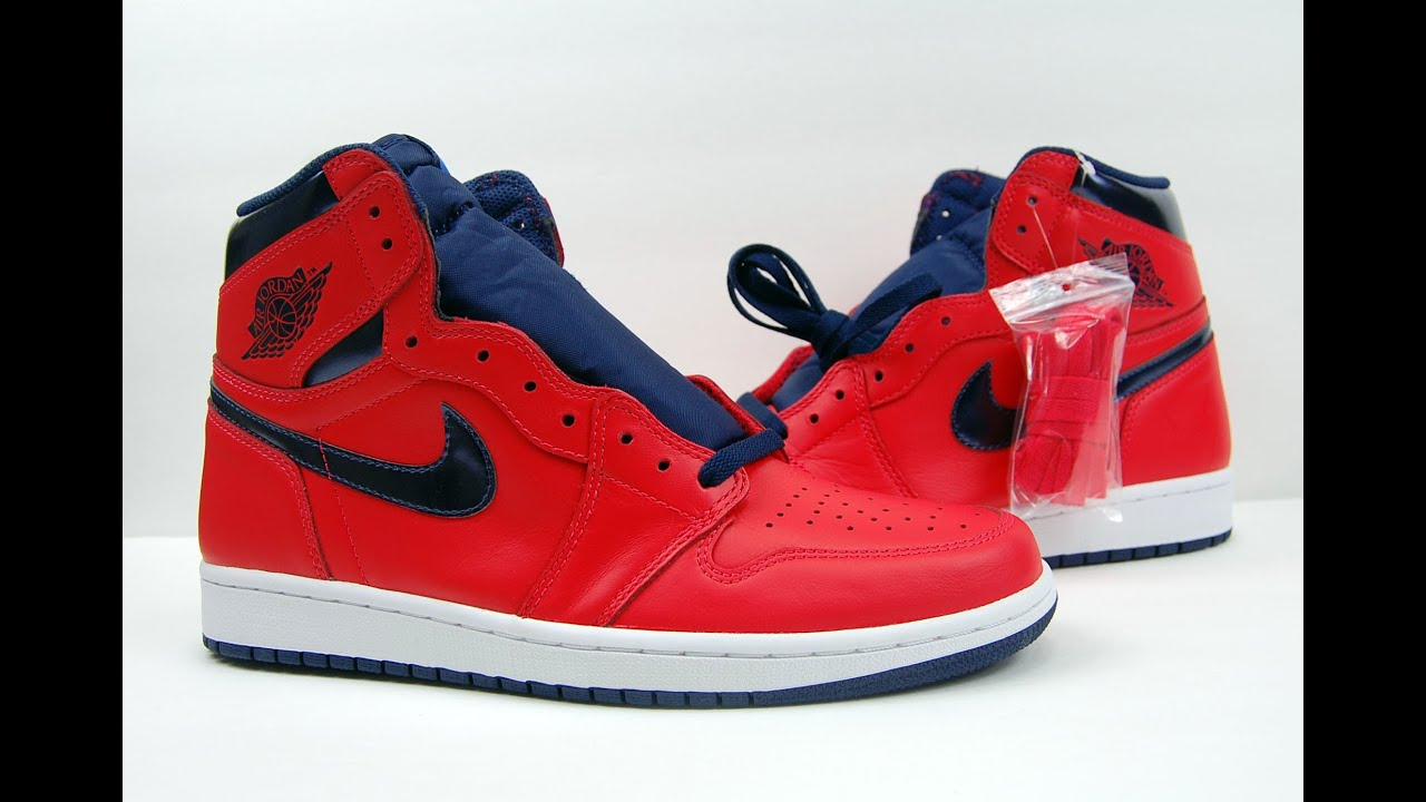 superior quality c04df caf01 Air Jordan 1 Retro High OG David Letterman Review