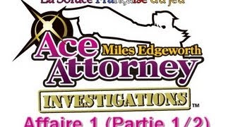 af1 part1 2 ace attorney investigations benjamin hunter soluce franaise affaire 1 partie 1