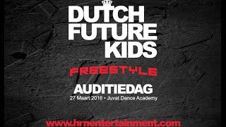 Dutch Future Kids Freestyle Auditiedag | HRN Movie