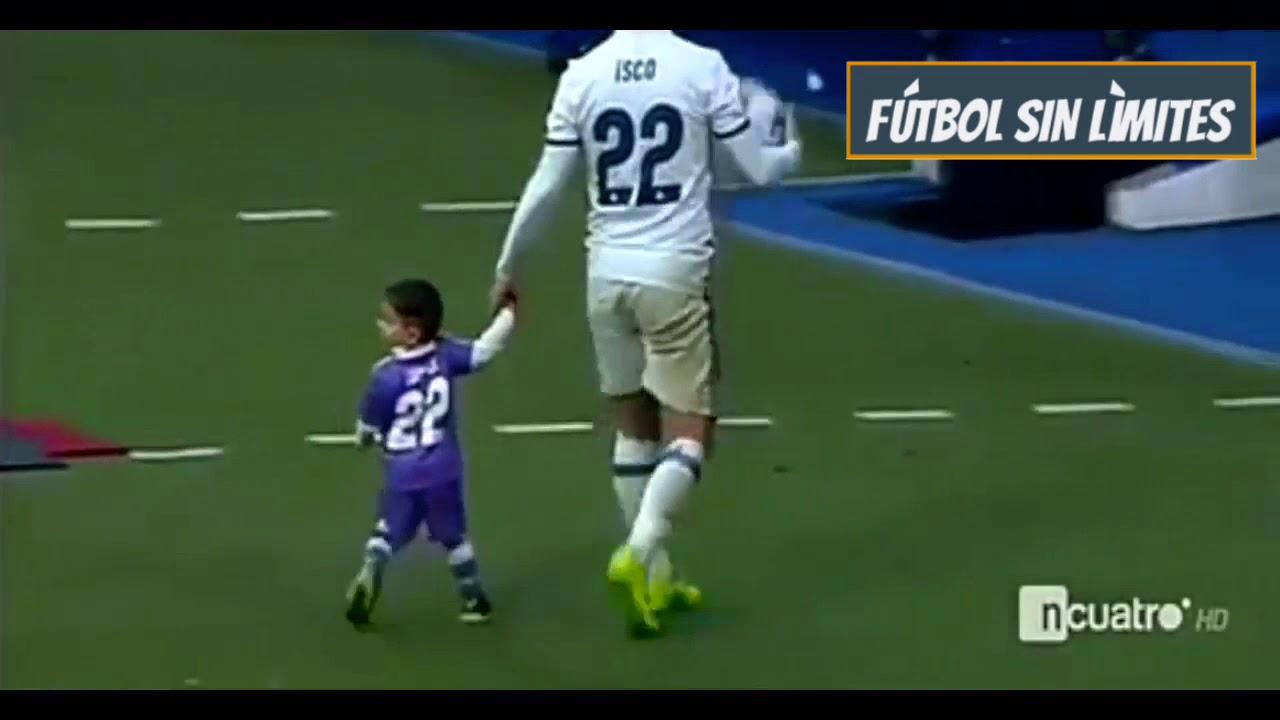 Futbolistas Famosos Jugando Con Sus Hijos Youtube
