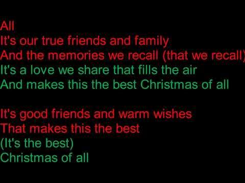 The Best Christmas of all Lyrics