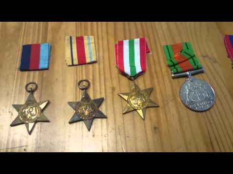 My Father's Medals from WWII