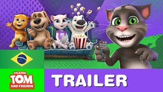 talking tom and friends em portugus trailer oficial