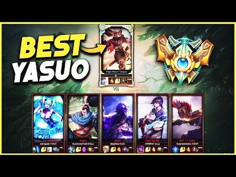 Best Yasuo in the WORLD vs. 5 Silver Players (Not Clickbait) - League of Legends