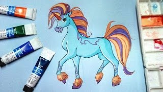 How to draw Elas from Winx club