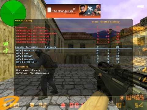 trace vs. Gamerzone @HLTV.org Xperia PLAY 2011 prelude