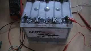 Defekte Autobatterie umrüsten zum Alaunakku