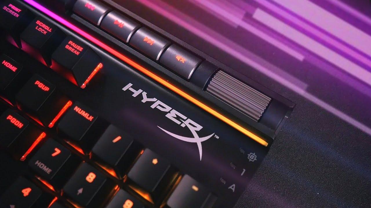 Металл, RGB и наконец-то удобный софт! HyperX Alloy Elite RGB