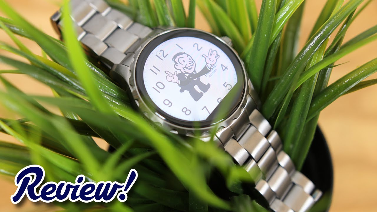 Fossil Q Marshal Complete Review Youtube