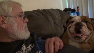 Grandpa and Bella