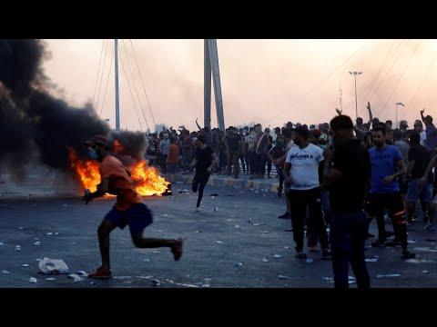 مواطنون عراقيون يرفضون تدخل إيران في شؤونهم وقمعها للمتظاهرين  - 20:55-2019 / 10 / 18