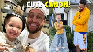 Stephen Curry's son CANON CURRY is SUPER ADORABLE CUTE! (PART 2)